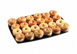 24 mini-bagels